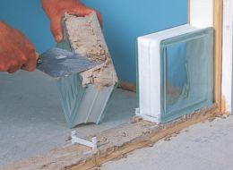 How to build a glass-block wall