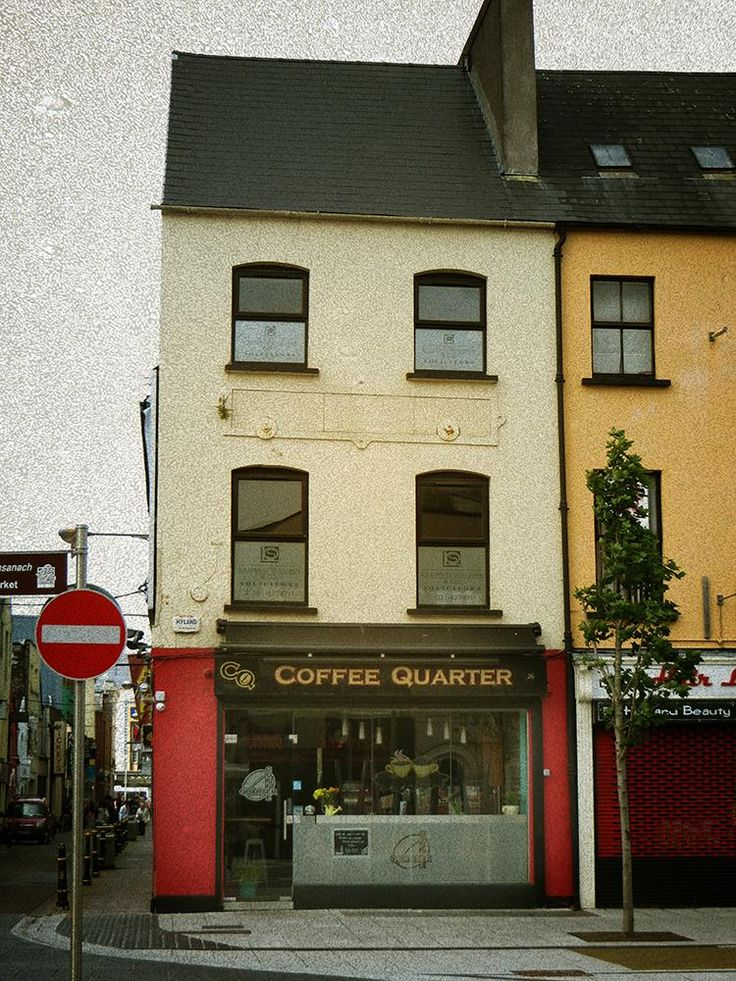 My photo of a coffee bar in the center of Cork.