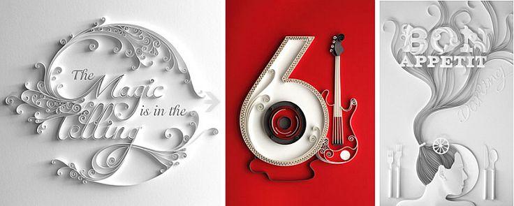 My favorite paper quilling artist: Yulia Brodskaya www.artyulia.com: Quilling Designs