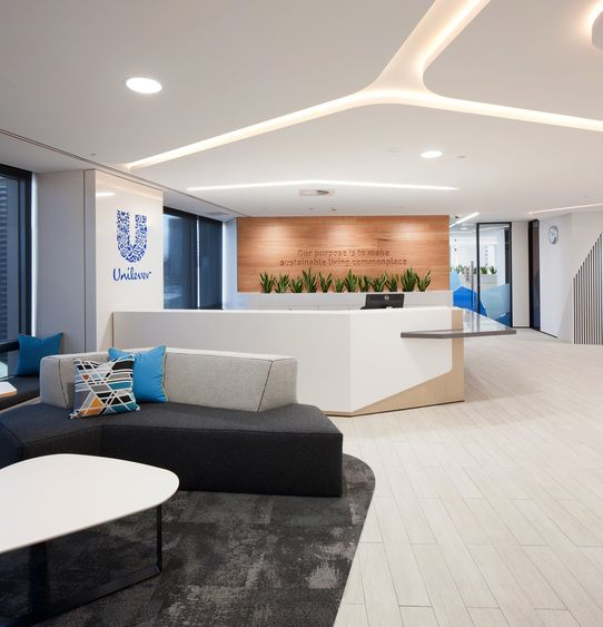 Gallery   Australian Interior Design Awards Unilever Sydney CBD NSW