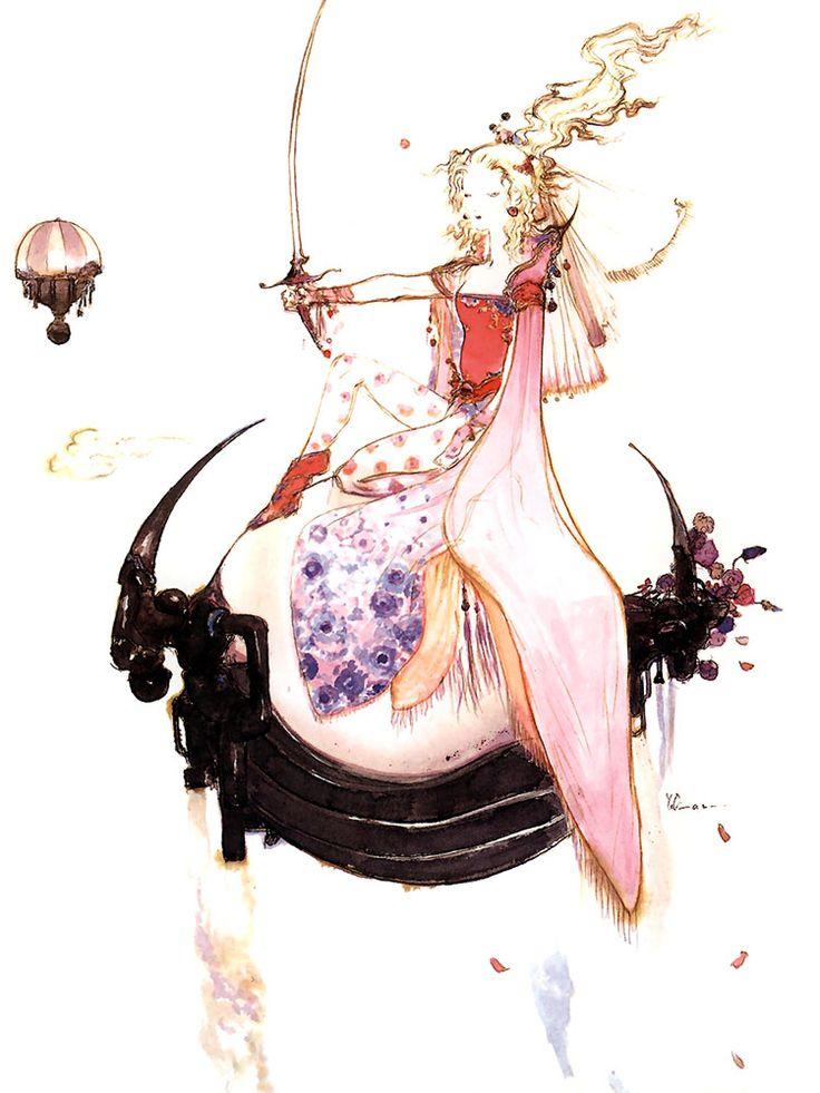 画像 : 【FF6主人公】儚い美少女・ティナ・ブランフォードの公式画像集【天野喜孝】 - NAVER まとめ