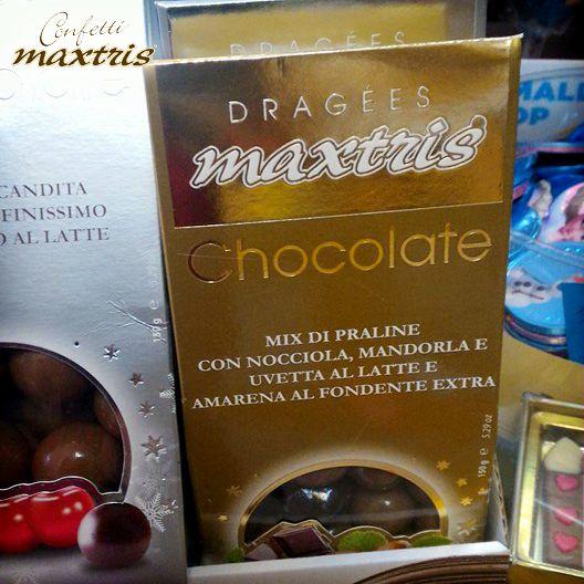 #confetti #maxtris #praline #dragées #uvetta #amarena #mandorla #nocciola #natale