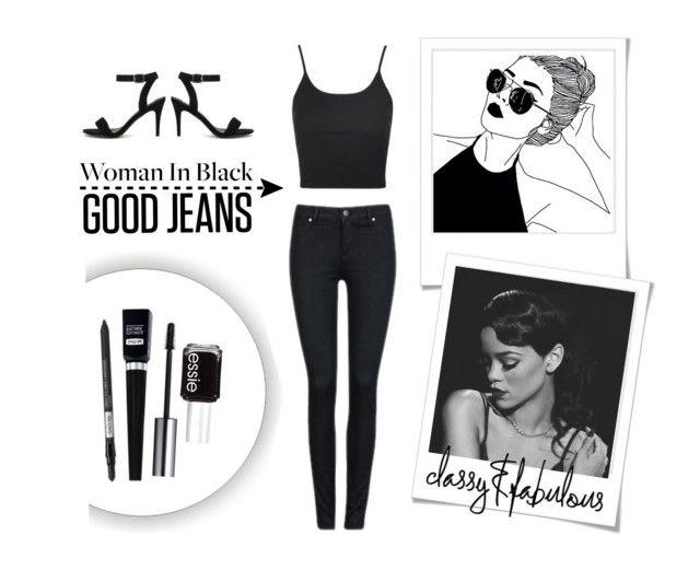 Simple Black Jeans 🎱