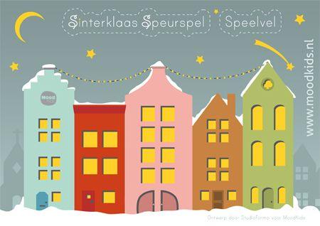 FREE printable Sinterklaas speurspel