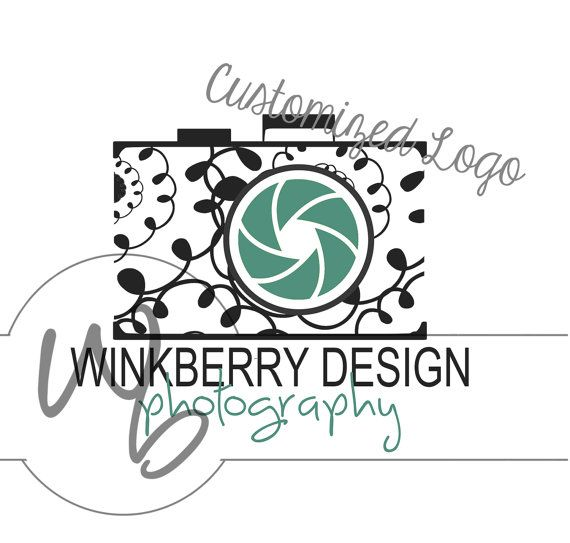 Customized Photography Logo Design Graphic by WinkberryDesign, $19.00