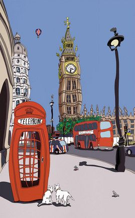 London Calling by Dylan Izaak, £450, available from Trent Galleries.