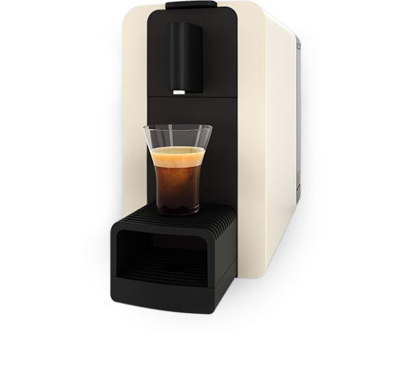 Kaffeemaschine Delizio Compact One Automatisch Cream White