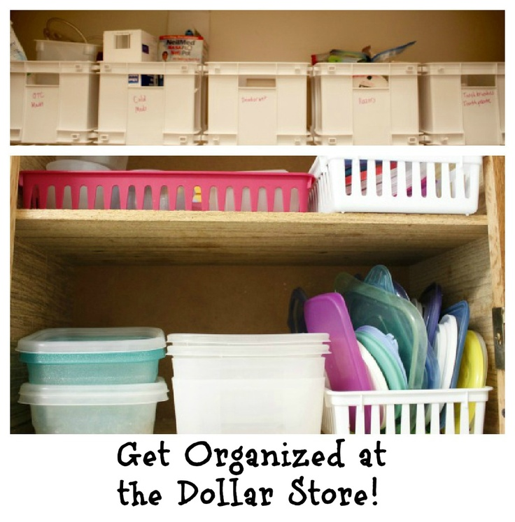 Organizing With Dollar Store Items: 277 Best Dollar Tree Crafts/decor/organizing/holiday/DIY
