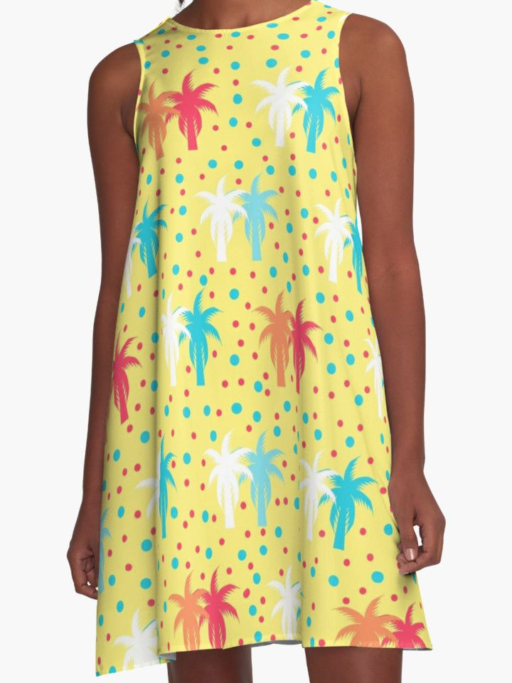 Beautiful, colorful, #loosefitting #dresses, for a #fun, #sunny #summer, #palmtree #tropical #beyourself