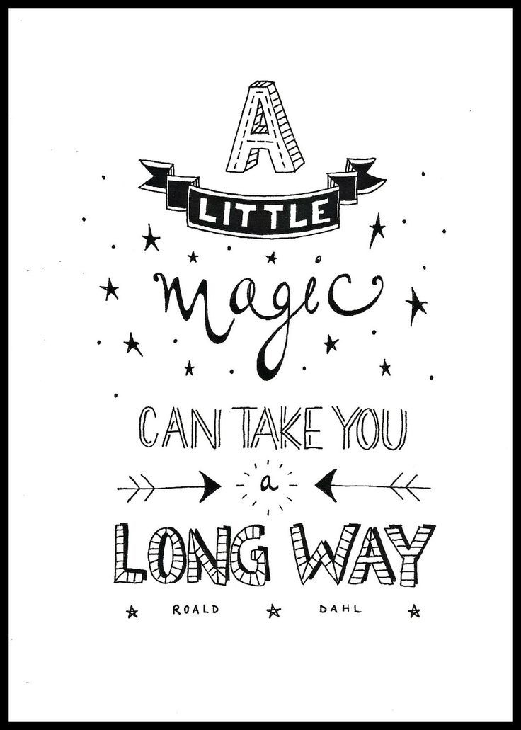 A little magic...