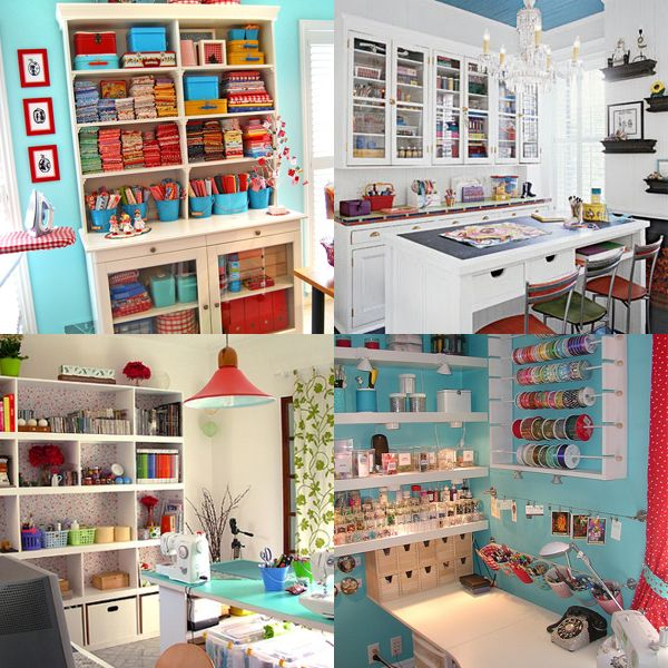 104 best Garden Craft Room images on Pinterest Sewing spaces