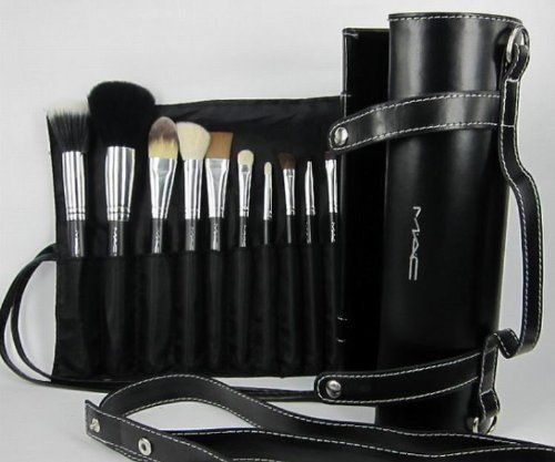 MAC 16 Pcs Makeup Brushes Gift Set Make up Cosmetic Brush Set Kit