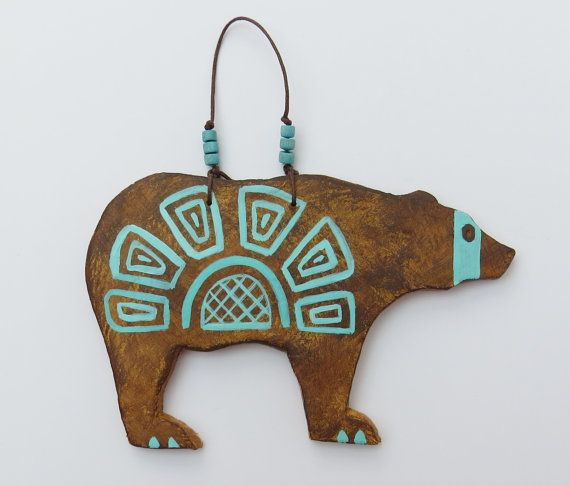 Bear spirit grizzly Native American Indian by MokiTradingPost