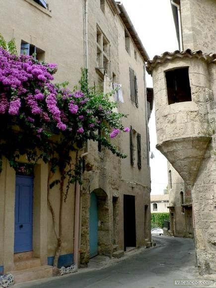 In the lovely village of Pezenas, France. The doors there are delightful.