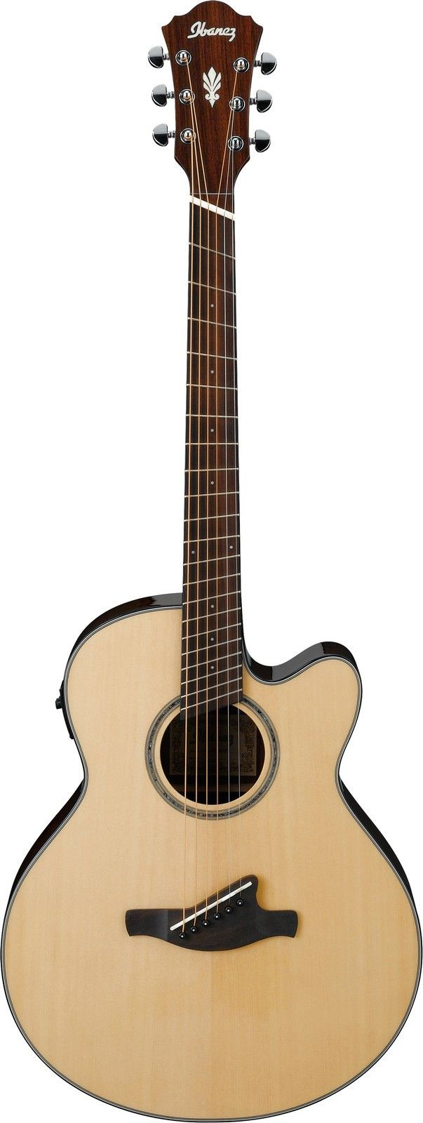 Dovetail template printable guitar - Ibanez Aelff10 Fanned Fret Acoustic Electric Guitar