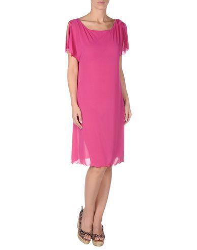 ¡Cómpralo ya!. BLUMARINE BEACHWEAR Vestido de playa mujer. punto jersey, logotipo, monocolor, sin bolsillo , vestidoinformal, casual, informales, informal, day, kleidcasual, vestidoinformal, robeinformelle, vestitoinformale, día. Vestido informal  de mujer color violeta rojizo de BLUMARINE BEACHWEAR.