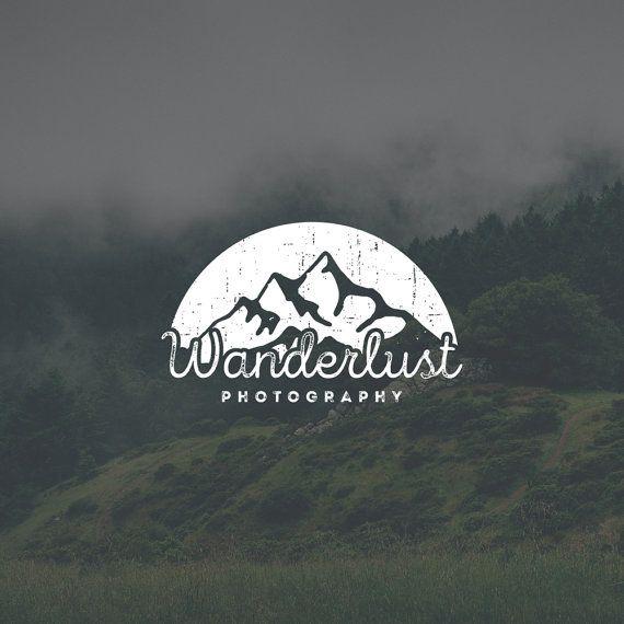Masculine Logo Design. Vintage Logo. Beer Logo. Manly Logo. Rugged Logo. Masculine Logo. Outline Logo. Typography Logo. Mountain Logo by Jay Darcy for Rogue Logo.