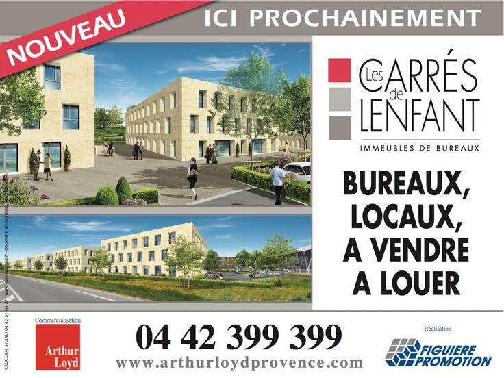Les carrés de Lenfant Aix en Provence