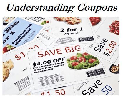 "Understanding Coupons-- ""This lesson has the very basics for how coupons work all the way through different types of coupons and how to use them. It's a great lesson for beginners who are still trying to understand the basics of how coupons work."""