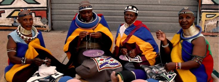 Look at how beautiful these women are!  Sithabe African Crafts