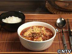 韓国の牛肉スープ、辛くてクセになる味。「ユッケジャンスープ」のレシピを紹介!
