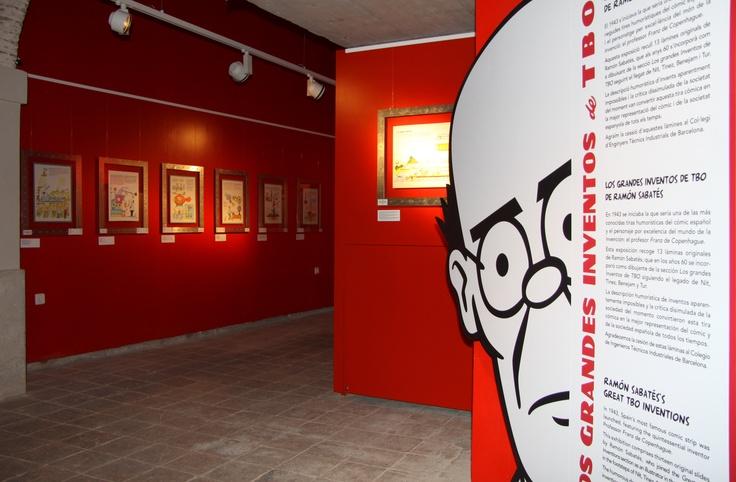 Expo Grandes inventos de TBO de Ramón Sabatés