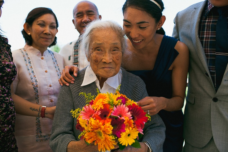Almost 100 years old.. My Gramma V ♥