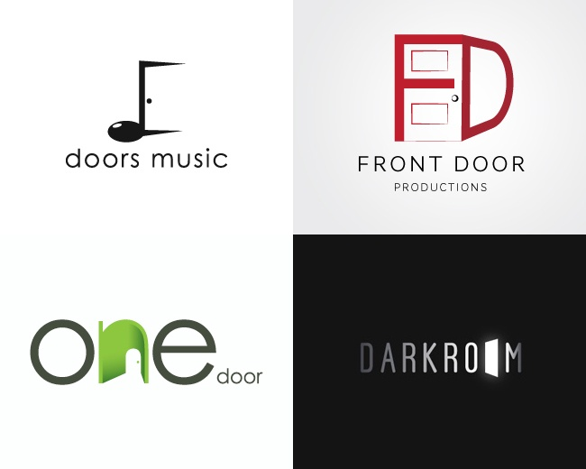 30 Really Clever Door Logos For Inspiration