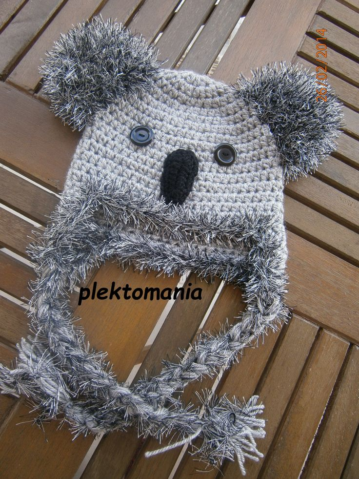 crochet koala https://www.facebook.com/plektomania25
