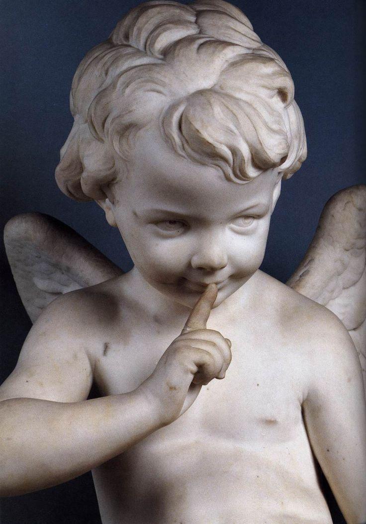 Cupid (detail) FALCONET, Étienne-Maurice (b. 1716, Paris, d. 1791, Paris) 1757 Marble Musée du Louvre, Paris: