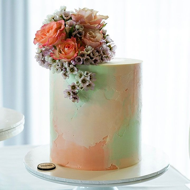Contemporary Wedding Cakes by Don't Tell Charles