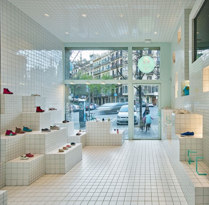 Little Shoes Shop by Nabito Architects, Barcelona – Spain » Retail Design Blog