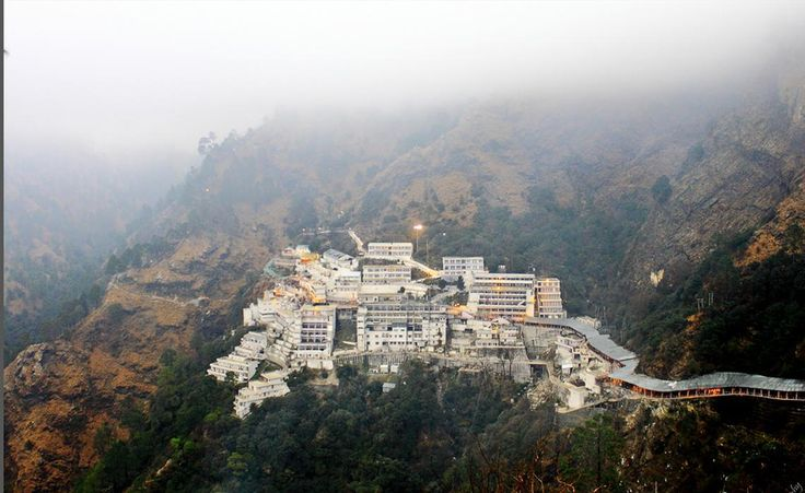 One of the most popular shrines among Hindu devotees, Vaishno Devi is dedicated to Hindu Mother Goddess. The shrine is located in Katra at the Trikuta Mountains within the Indian state of Jammu and Kashmir.