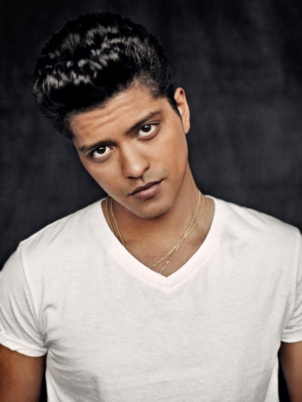 """Bruno Mars...... Only problem is I'm 5'9"""" and love to wear heels. He's on like 5'5"""". I'd tower him by 7"""" or so. LOL"""