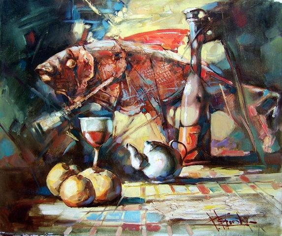 Waclaw Sporski  Still-Life