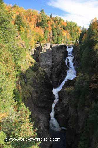 Chute Sainte-Anne  Canyon Sainte-Anne / Beaupre, Quebec, Canada