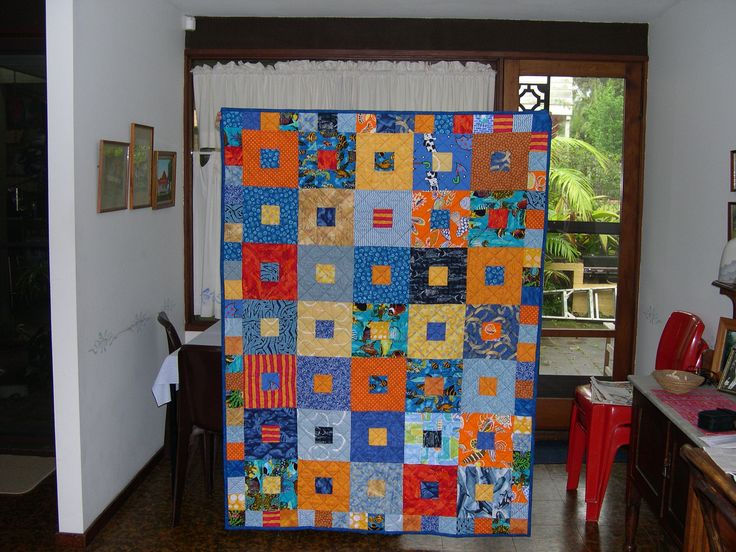 charity quilt for Alfreda.