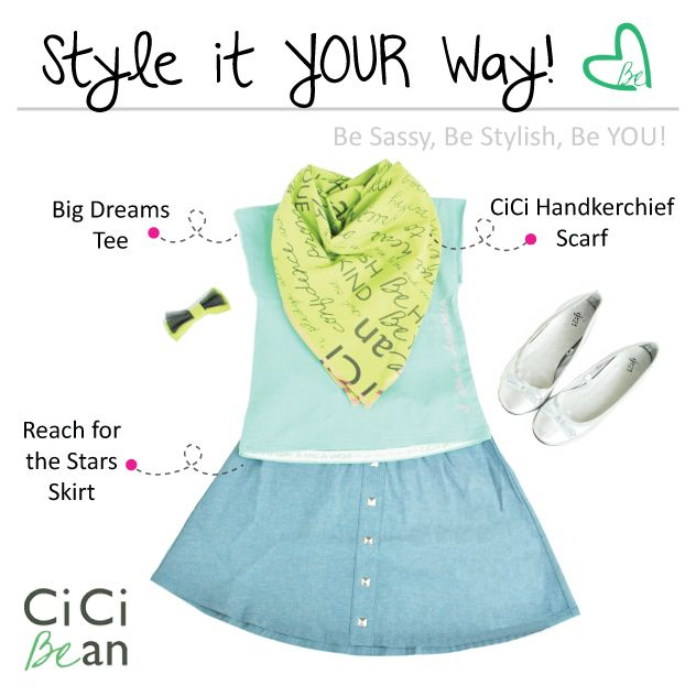 Bright & Breezy CiCi Style! | CiCi Bean - clothing for tween girls. | Contact your local Play Stylist or shop online at www.peekaboobeans.com | #cicibeanstyle