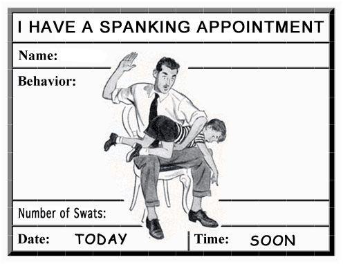 Boys tortured spank