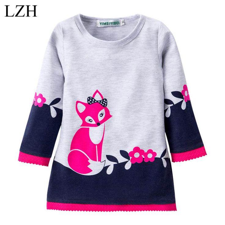 $7.09 (Buy here: https://alitems.com/g/1e8d114494ebda23ff8b16525dc3e8/?i=5&ulp=https%3A%2F%2Fwww.aliexpress.com%2Fitem%2FGirls-Winter-Dress-Fox-Pattern-Girls-Long-Sleeve-Sweater-Dress-Kids-Sweater-Dresses-for-Girls-Dress%2F32764164745.html ) LZH Girls Winter Dress Fox Pattern Girl Long-Sleeve Cotton Dress Girls Dress Costume For Kids Dress 2017 New Spring Girl Clothes for just $7.09