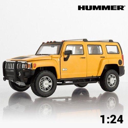 Voiture #Miniature Tout-Terrain Hummer H3