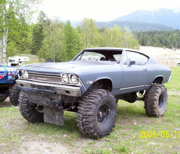 Lifted muscle cars