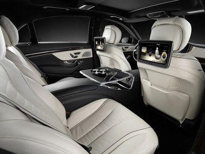 The new Mercedes-Benz S-Class interior