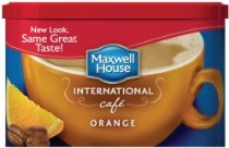 Maxwell House International Coffee Orange Cafe, 9.3-Ounce Container, (Pack of 4)