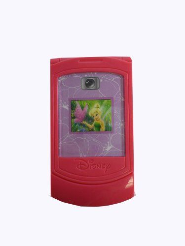Disney Tinker Bell Magical Play Camera Phone by Tinker Bell. $8.50. Ideal for the Tinker Bell fan comes this adorable magical play camera phone.  Includes 2 LR44 batteries.  Press the key pad to hear sounds!. Save 15% Off!