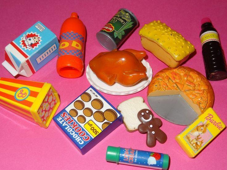Barbie Toy Food : Best ideas about barbie food on pinterest miniature