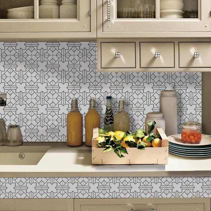 best 25 wall stickers for kitchen ideas on pinterest wall stickers to kitchen wall stickers look like tiles and wall stickers for bathroom - Tijdelijke Backsplash