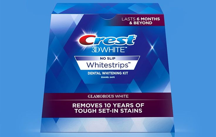 2. Crest 3D White Whitestrips http://www.womenshealthmag.com/beauty/dentist-approved-teeth-whitening-products/slide/2