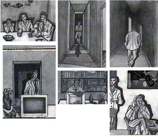 Film Storyboard by Charleen Morris