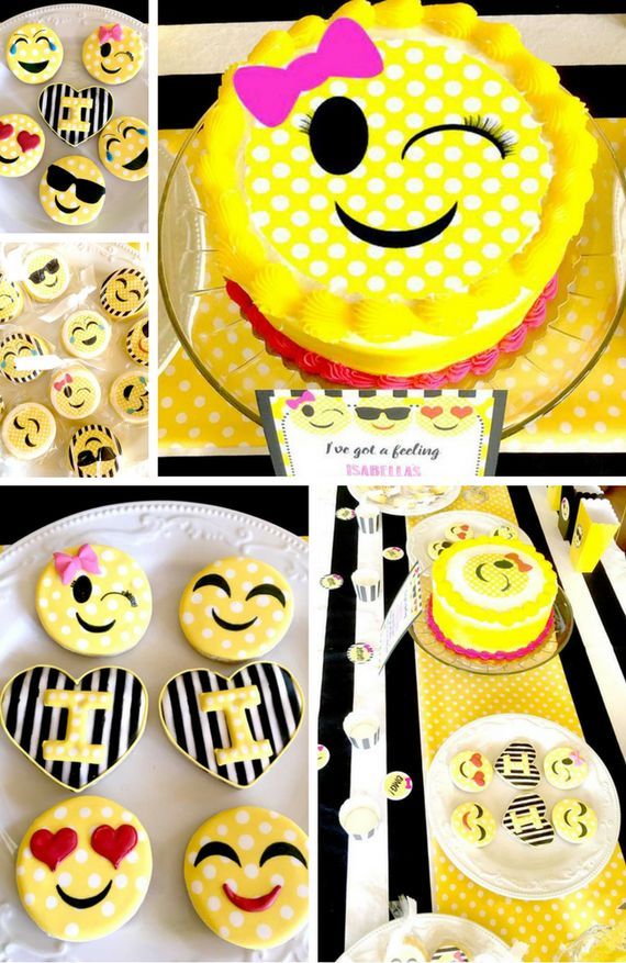 Emoji Double Digit Birthday Party